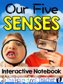 Five Senses - Interactive Notebook and Posters