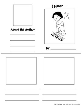 The Five Senses Mini Books Templates - with Vocabulary Cards - BUNDLE