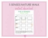 The Five Senses Nature Walk | Nature Scavenger Hunt | Outdoor Activity