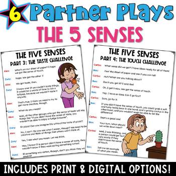 The Five Senses Partner Plays