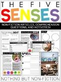 The Five Senses Reading Passages