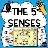 The Five Senses Unit: Book, Games & Activities Packet