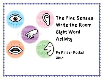 Write the Room-The five senses