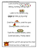 The Five Senses of Christmas Poem