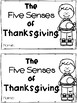 The Five Senses of Thanksgiving