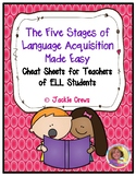 The Five Stages of Language Acquisition Made Easy
