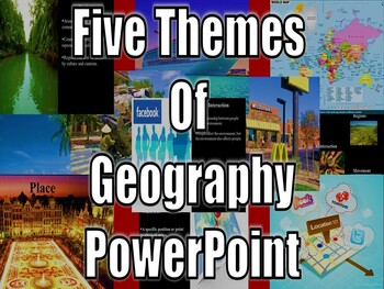 Five Themes of Geography PowerPoint