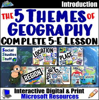 The Five Themes of Geography- Explain Lesson