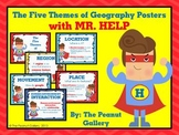 The Five Themes of Geography Posters (with MR. HELP)