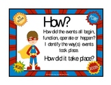 The Five W's Super Hero Theme