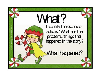 The Five W's with Elf / Christmas Theme