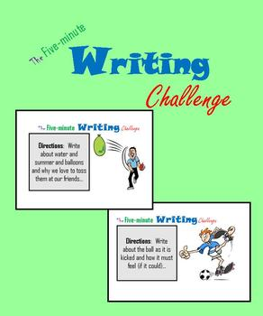 The Five-minute Writing Challenge