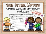 The Fixer Upper - Sentence editing for early primary - SAMPLE