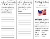 The Flag We Love Trifold - Open Court 2nd Grade Unit 5 Lesson 3