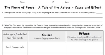 The Flame of Peace - Cause and Effect