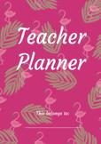 The Flamingo Teacher Planner