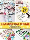 The FlapJack Classroom Themes Decor Freebies List