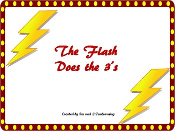 The Flash Does the 3's