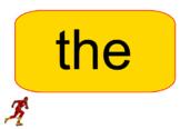 The Flash Sight Word Practice - Editable!