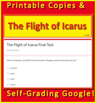The Flight of Icarus BUNDLE Introduction, Review Game, + Google Teacher's Guide