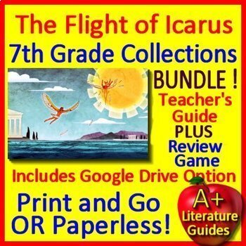 The Flight of Icarus Bundle 7th Grade HMH Collections 1 -  HRW