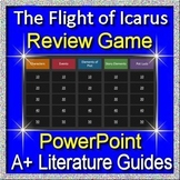 The Flight of Icarus Review Game for the 7th grade HMH Collections Textbook