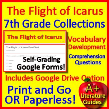 The Flight of Icarus Teacher's Guide to Use With OR Without Google Drive