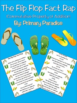 Addition: The Flip Flop Fact Rap (Commutative... by Primary ...