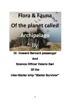 The Flora & fauna of the Planet called Archipelago