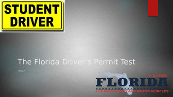 Driver's Education The Florida Permit Test