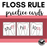 The Floss Rule Flashcards