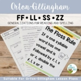 The Floss Rule Orton-Gillingham Spelling Generalizations |