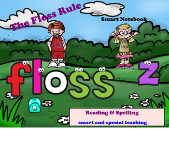 The Floss Rule Reading and Spelling SMART Board Lesson Activities