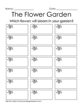 The Flower Garden - 2nd Grade
