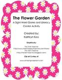 The Flower Garden - First Grade Dolch Words