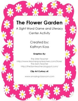The Flower Garden - Pre-Primer