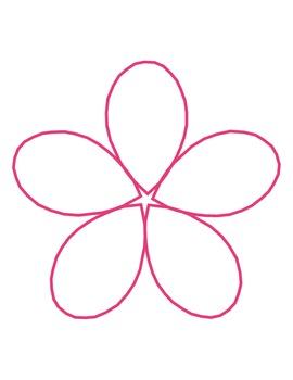 """The Flower Pot"" Homework Kit for Kindergarten (Set A #9 of 10)"