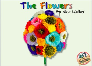 The Flowers by Alice Walker (PARCC Aligned CCSS Aligned)