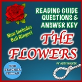 The Flowers by Alice Walker Reading Guide Questions & Answer Key & Bell Ringer!