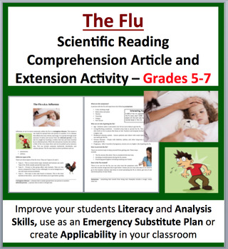The Flu - Science Reading Article - Grades 5-7