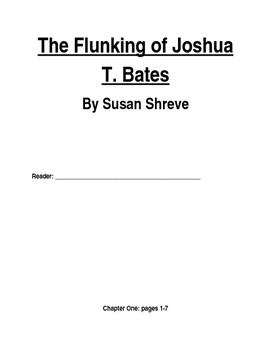 The Flunking of Joshua T. Bates Packet