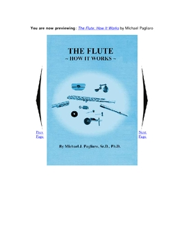 The Flute: How It Works