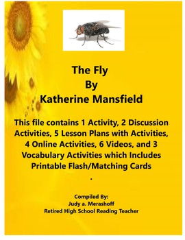 The Fly By Kathrine Mansfield - Short Story Supplemental Activities
