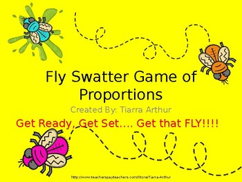 The Fly Swatter Game of Proportions
