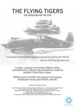 The Flying Tigers Mini Poster