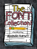 The Font Collections (Personal and Commercial Use)