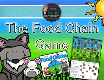 The Food Chain Game - Three in a Row