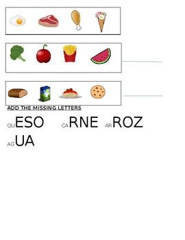 The Food / Las Comidas