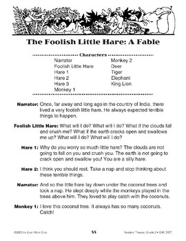 The Foolish Little Hare: A Fable