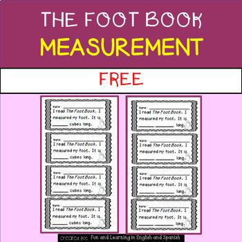 The Foot Book - measurement FREEBIE